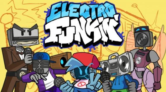 Electro Funkin FNF MOD