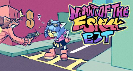Night Of The Funky Bot FNF MOD