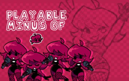 Playable Minus GF Skin (Over BF)