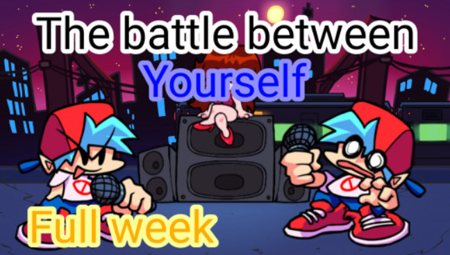 The Battle Between Yourself FNF MOD