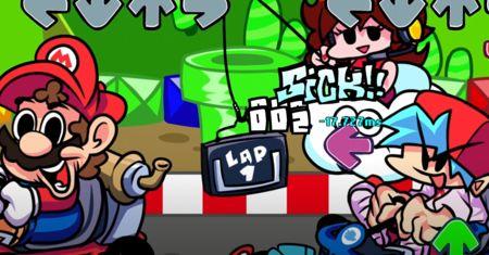 FNF VS Super Mario Kart
