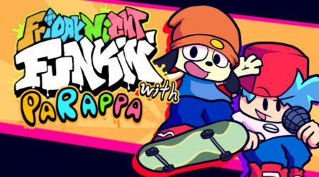 With Parappa The Rapper FNF MOD