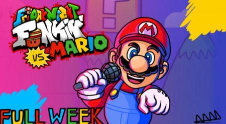 VS Super Mario FNF MOD