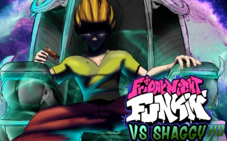 FNF VS Shaggy HD Remastered (Fanmade)