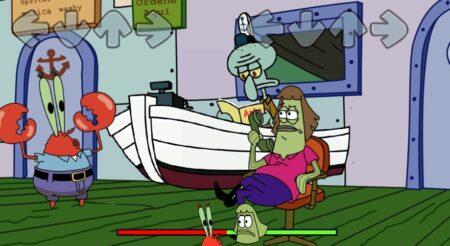 FNF Krabbattle (SpongeBob)