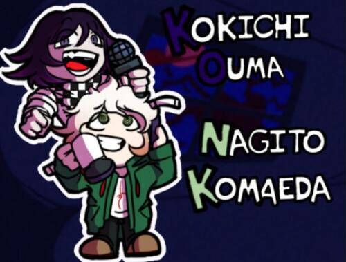Kokichi Nagito FNF Skin