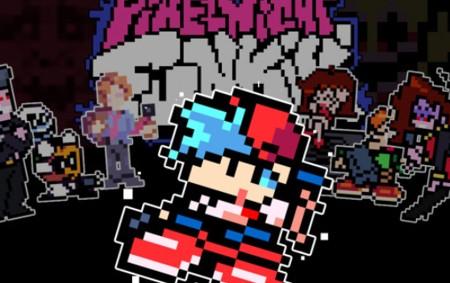 Pixel Night Funkin' FNF MOD
