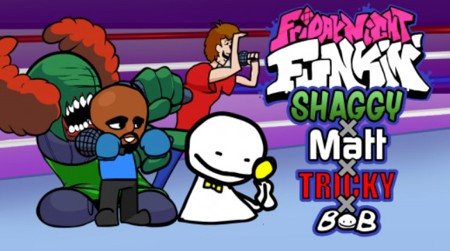 Shaggy X Matt X Tricky X Bob Unblocked