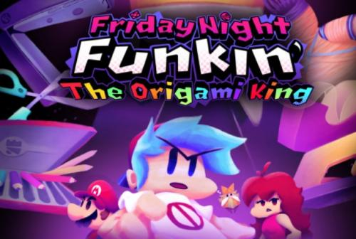 FNF The Origami King: VS Paper Mario