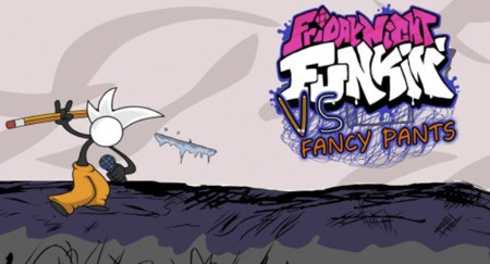 VS Fancy Pants Man FNF MOD