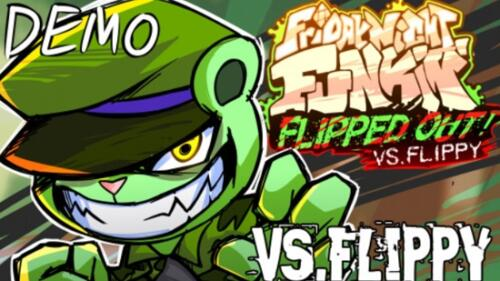 FNF Flipped Out (VS Flippy) Unblocked (DEMO 2 Update)