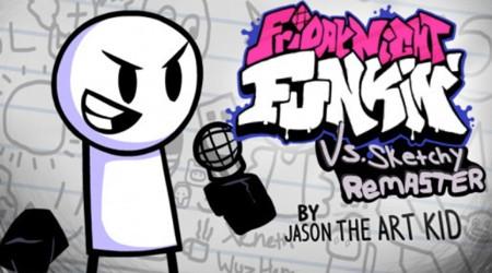 Vs Sketchy Remastered FNF MOD