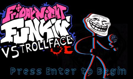 VS Trollface FNF MOD
